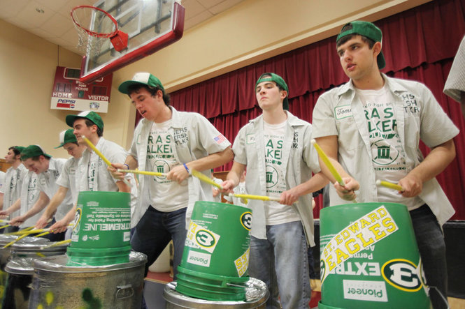 Trash Talkers featured in The Plain Dealer | St  Edward High School